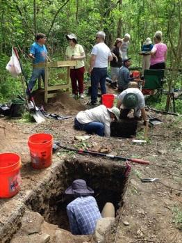 Fieldwork at Herring Run Park