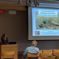 "Stacy Poulos, Anne Arundel County Archaeology, ""In the Face of the Flood: Endangered Sites in Anne Arundel County"""